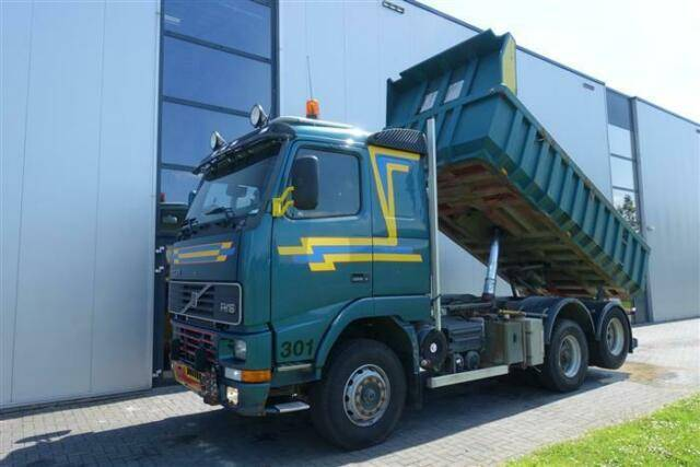 Volvo FH16.470 6X2 DUMPER FULL STEEL MANUAL HUB REDUCT - 1996