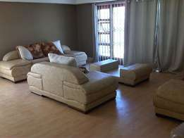 Fielli Cream and Beige Lounge Suite