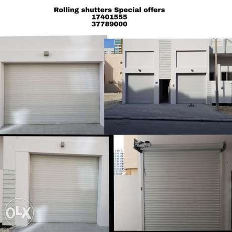 Garage Door and rolling shutters