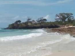 3Acres beach plot in Galu kinondo,quick sale.