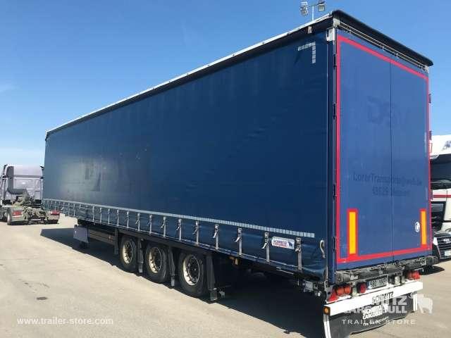 Schmitz Cargobull Curtainsider Mega - 2013