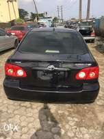 Tokunbo 2006 corolla accident free for sale