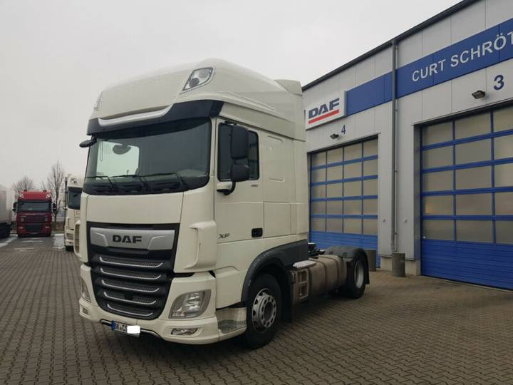 DAF FT XF 480 SSC, AUT TraXon, MX-Brake, Pr. 09.2018 - 2018