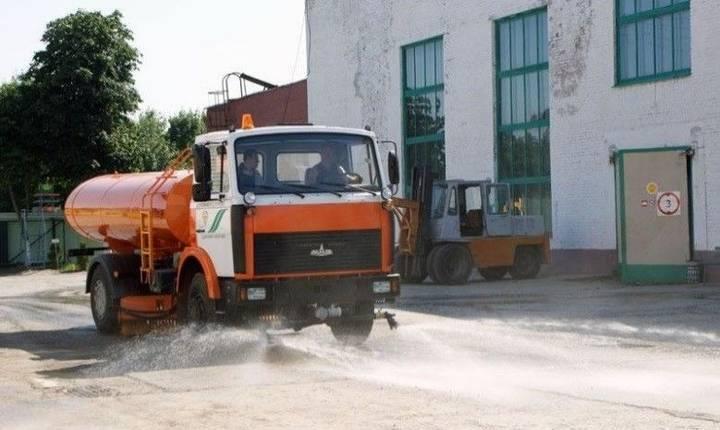 Maz Поливомоечная машина МКДС 07 - 2017