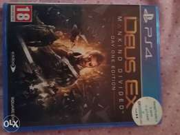 ps4 ,deux ex mankind divided