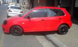 Vw polo vivo 1.4 red in color 2012 model 87000km R85000 nice sound
