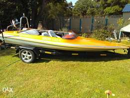 Boat with trailer. URGENT SALE!!!