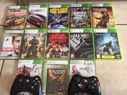 XBOX 360. great condition. 2 remotes. 13 games.