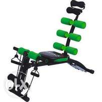 6 In 1 Home Gym Abdominal Machine Six Pack Care Ab Rocket Core Exercis