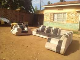 L Mercedes sofa 6seater,available on order