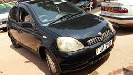 Toyota Vitz black colour UAT for sale