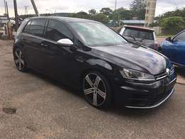 2014 Immaculate golf 7 R gloss black for sale.