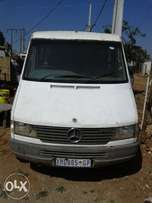 M Benz sprinter short base with 3y engine running smoothly