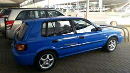 Toyota tazz 130 sport with air con and mags.