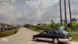 Vast plots of land at Opete industrial area for sales