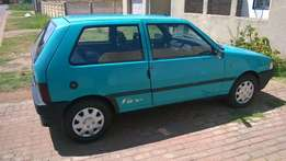 Green Fiat Uno fort sale