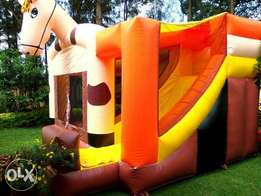 Inflatables and kids fun equipment for hire