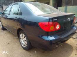 Newly arrived Toyota corolla