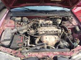 Reg Honda accord (bulldog) for sale
