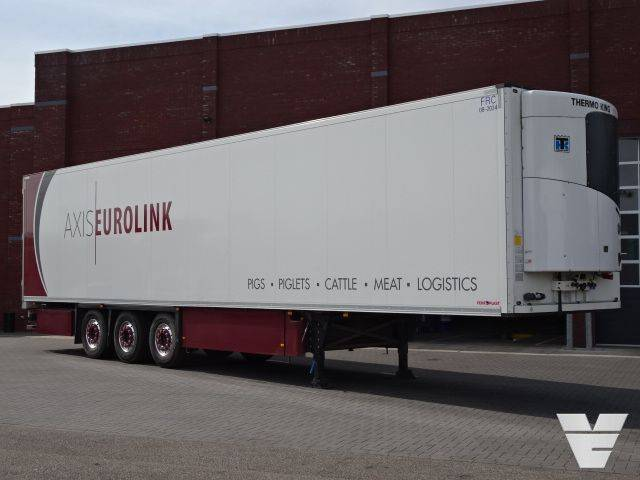 Schmitz Cargobull SKO24/L Frigo Trailer ThermoKing SLXi400 Hooks / Rohrbahnen - 2018