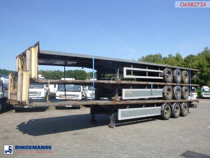 SDC Stack - 3 x platform trailer - 2005