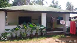 Two bedroom watamu house on ¼acre