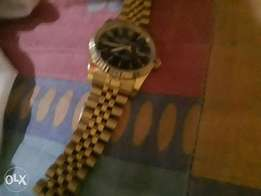 Gold rolex watch original