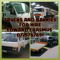 Removals Trucks for hire