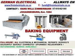 Prestige Electrical Bakery Equipt. services