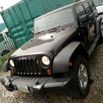 A super clean and sound wrangler jeep 2011model registered