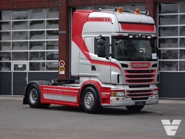 Scania R420 LA4x2MNA PTO-Tipperhydraulic - 2012