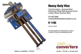 Heavy Duty Vice