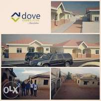 Uncompleted buildings for sale in a mini estate.