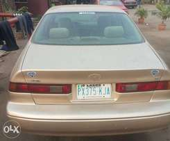 Registered Toyota Camry Tiny light