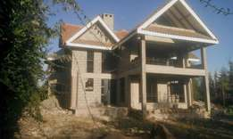 An elegant 4 bedroom all on 1/4 acre land in ongata rongai.
