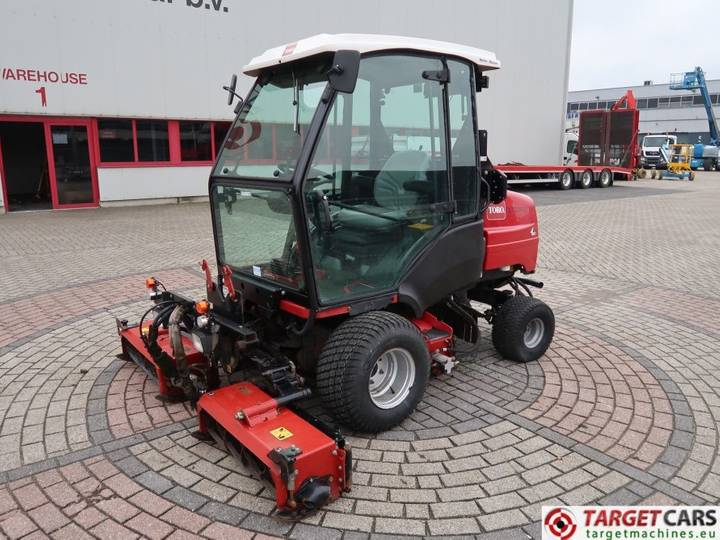 Toro LT3340 Hydro 3-Gang 4WD Cylinder Reel Mower AIRCO - 2012