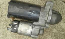 Bmw starter motor and all bmw spares