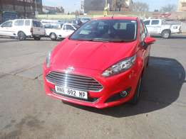 Ford Fiesta 1.4 2015 model 25000km red in colour R155000 manual