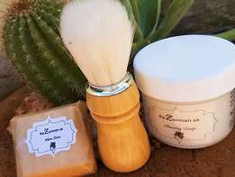 RazormanSA - Alum stone, shaving soap, shaving brush