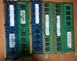 Ram Memories for both Desktops & Laptops