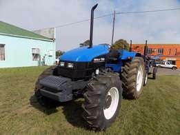 New Holland TS80 tractor 4x4