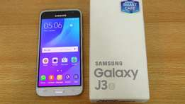 Samsung Galaxy J3 2016 Brand New with 1yr warranty at 13000