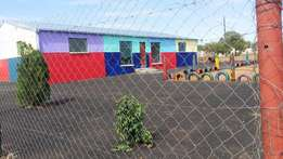 Pre school with space to develop a primary school for sale