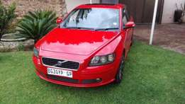 Beautiful Red Volvo S40 T5