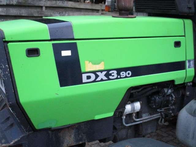 Deutz-fahr Stickerset DX 3.10 3.30 3.50 3.60 3.70 3.90 4.30