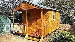 4x5,3 cabin wooden house for sale