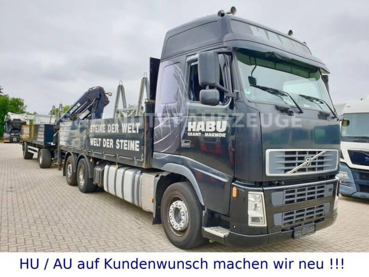 Volvo FH 480 EURO 5 6x2 KRAN HLK 161 BAUSTOFF - 2007