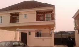 5 Bedroom fullydetached duplex 4 sale at lekki county estate Ikota.