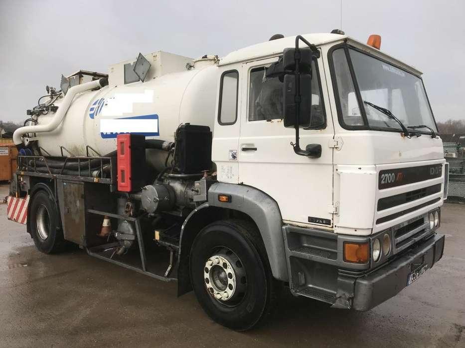 DAF 2700ati Hydrocureur-vacuum Truck - 1992