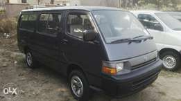 2002 Toyota Hiace 18 seaters.